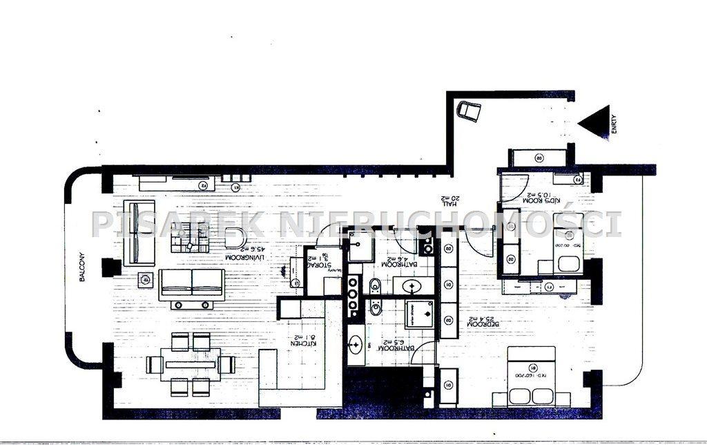Mieszkanie trzypokojowe na sprzedaż Warszawa, Mokotów, Dolny Mokotów, Sułkowicka  128m2 Foto 9