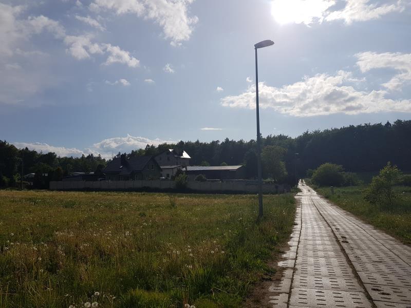 Działka budowlana na sprzedaż Łężyce, Domków Jednorodzinnych, domków jednorodzinnych, Topolowa  1604m2 Foto 5