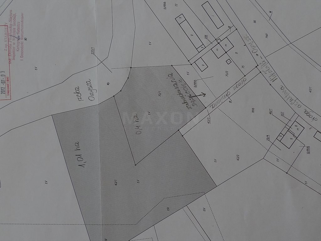 Działka siedliskowa na sprzedaż Grzegorze  14000m2 Foto 3