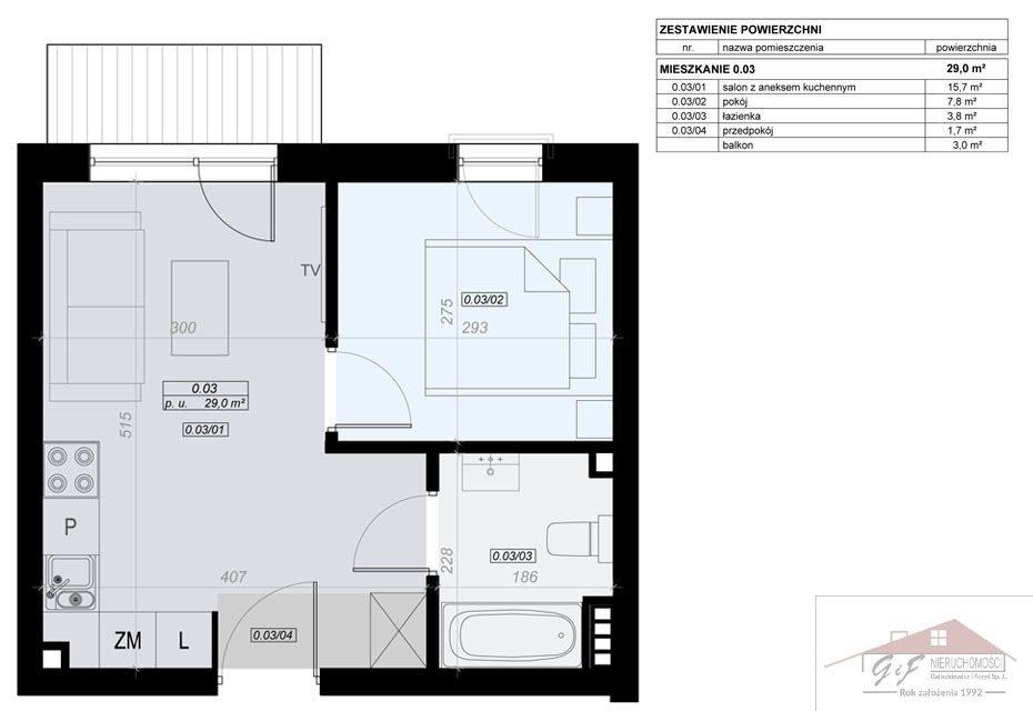 Mieszkanie dwupokojowe na sprzedaż Przemyśl, Tatarska  29m2 Foto 6