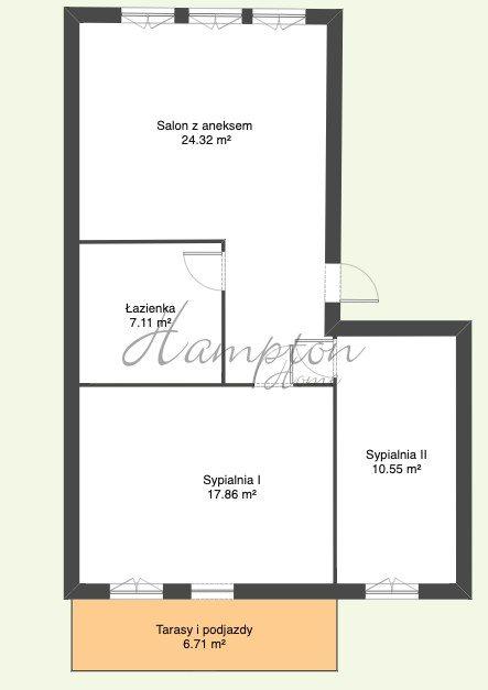 Mieszkanie trzypokojowe na sprzedaż Warszawa, Praga-Południe, Władysława Umińskiego  60m2 Foto 11