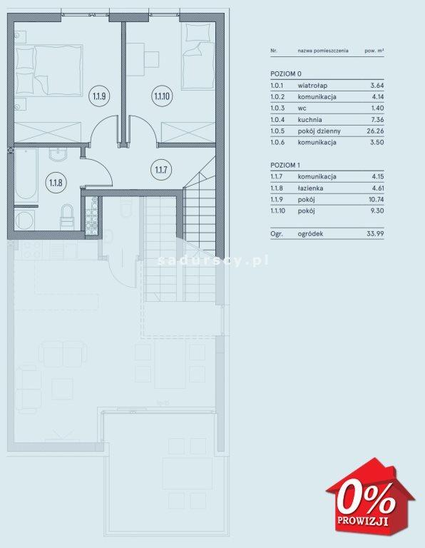 Mieszkanie trzypokojowe na sprzedaż Wieliczka, Wieliczka, Wieliczka, Kasztanowa okolice  75m2 Foto 3