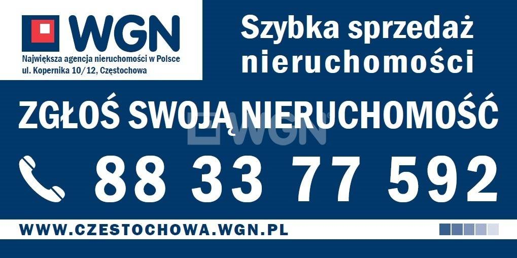 Działka budowlana na sprzedaż Poczesna, gm. Poczesna, Zakole  1462m2 Foto 8