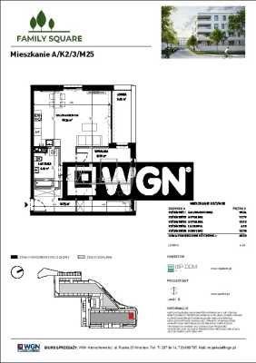 Mieszkanie trzypokojowe na sprzedaż Wrocław, Krzyki, Skarbowców  68m2 Foto 6