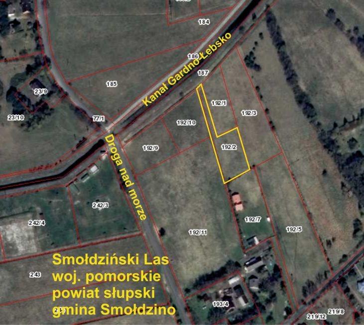 Działka rolna na sprzedaż Smołdziński Las  1750m2 Foto 1