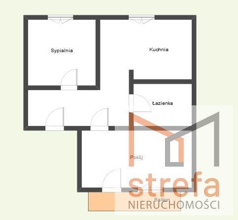 Mieszkanie dwupokojowe na sprzedaż Lublin, Kalinowszczyzna  50m2 Foto 7