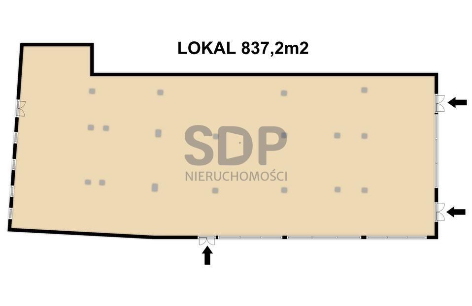 Lokal użytkowy na sprzedaż Wrocław, Krzyki, Klecina, Wałbrzyska  702m2 Foto 8