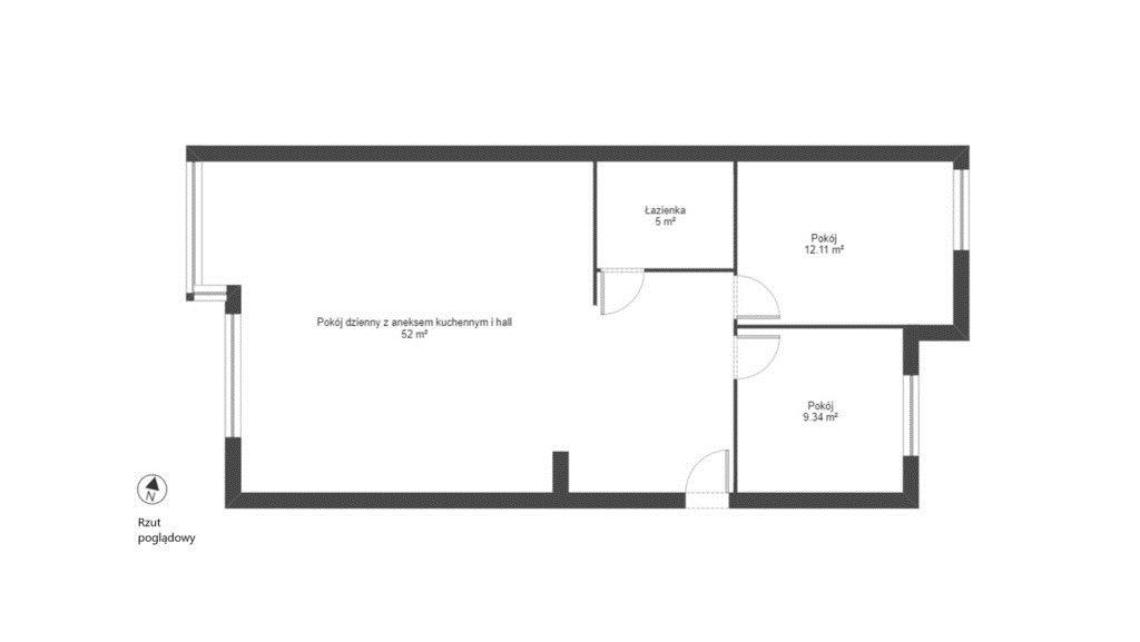 Mieszkanie trzypokojowe na sprzedaż Kraków, Bronowice, Bronowice, Józefa Chełmońskiego  78m2 Foto 8