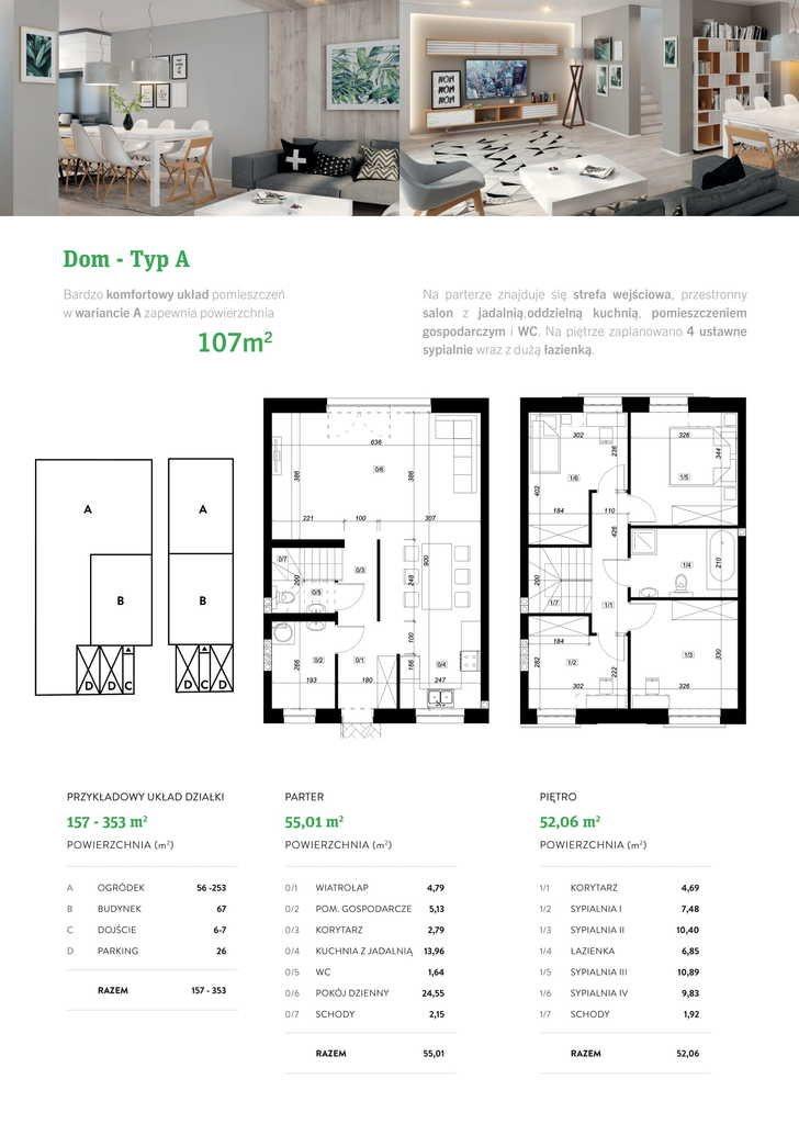 Dom na sprzedaż Suchy Las  107m2 Foto 10