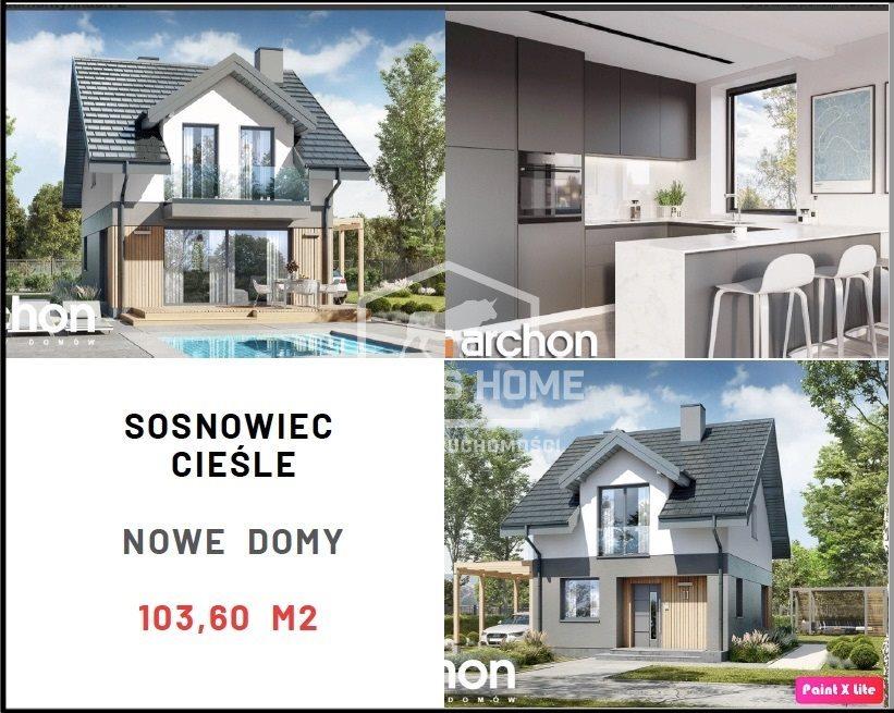 Dom na sprzedaż Sosnowiec, Cieśle  104m2 Foto 1
