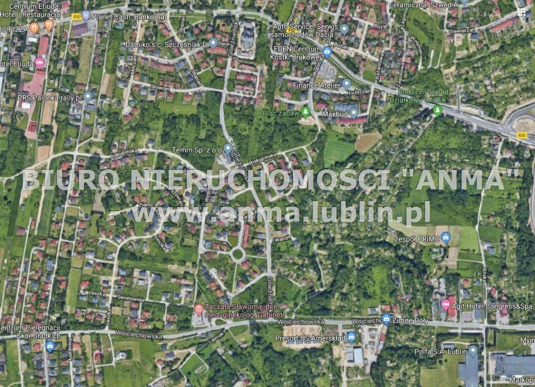 Działka budowlana na sprzedaż Lublin, Szerokie  1237m2 Foto 1