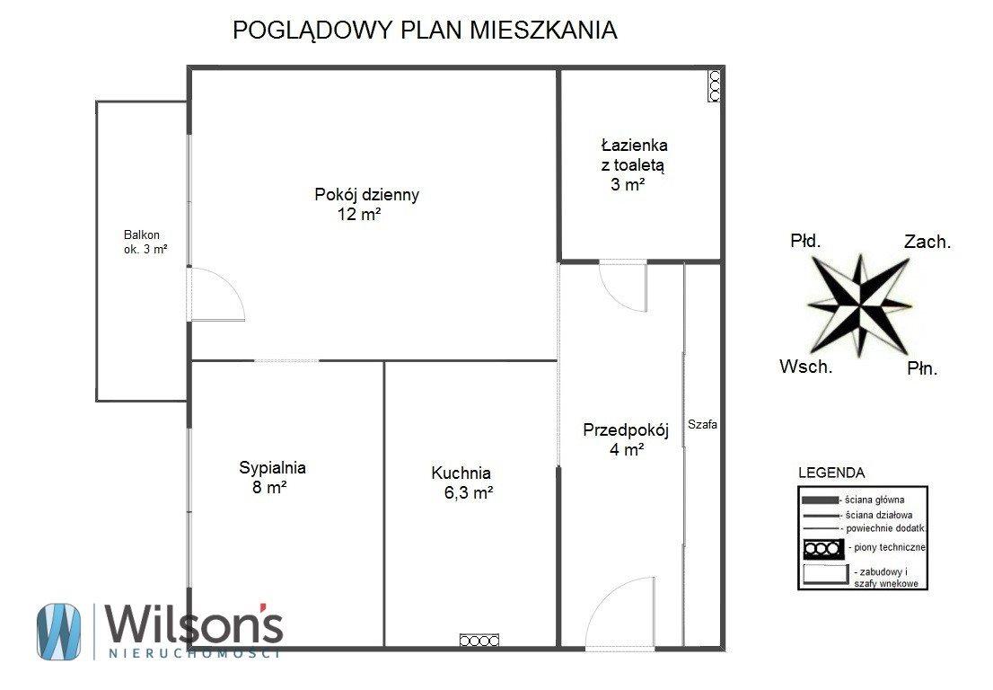 Mieszkanie dwupokojowe na sprzedaż Warszawa, Śródmieście Muranów, Ciasna  33m2 Foto 2