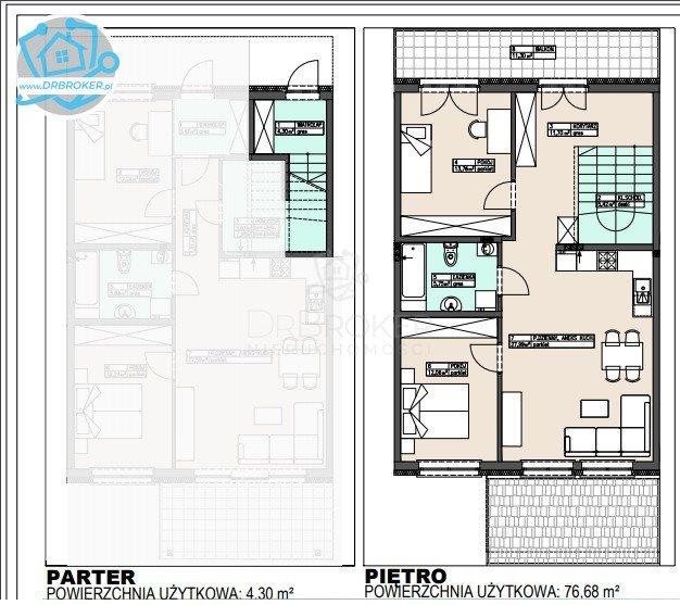 Mieszkanie trzypokojowe na sprzedaż Porosły  81m2 Foto 3