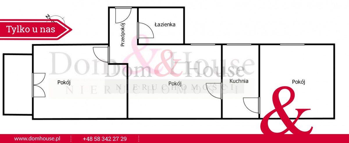 Mieszkanie trzypokojowe na sprzedaż Gdańsk, Śródmieście, Mariana Seredyńskiego  65m2 Foto 5