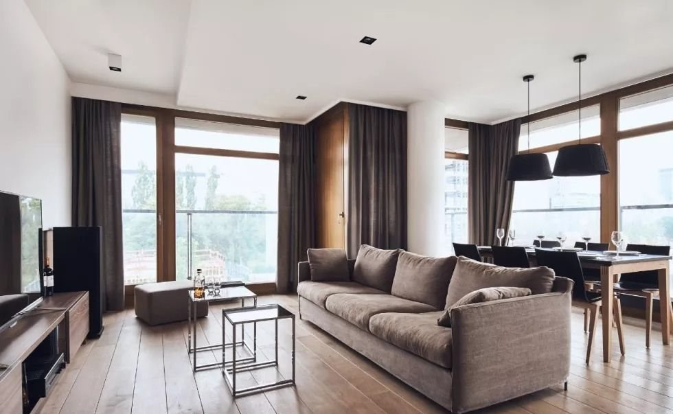 Luksusowe mieszkanie dwupokojowe na wynajem Warszawa, Wola, Kolejowa  80m2 Foto 1