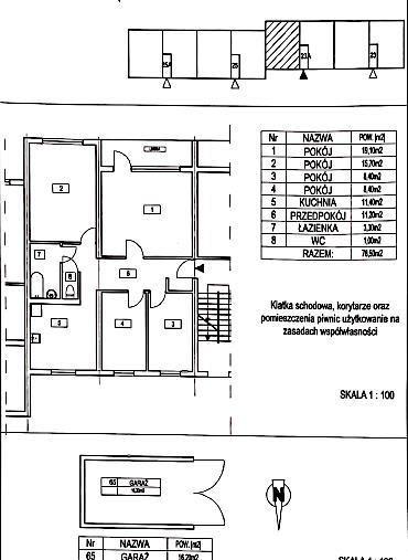 Mieszkanie czteropokojowe  na sprzedaż Bierdzany  79m2 Foto 10