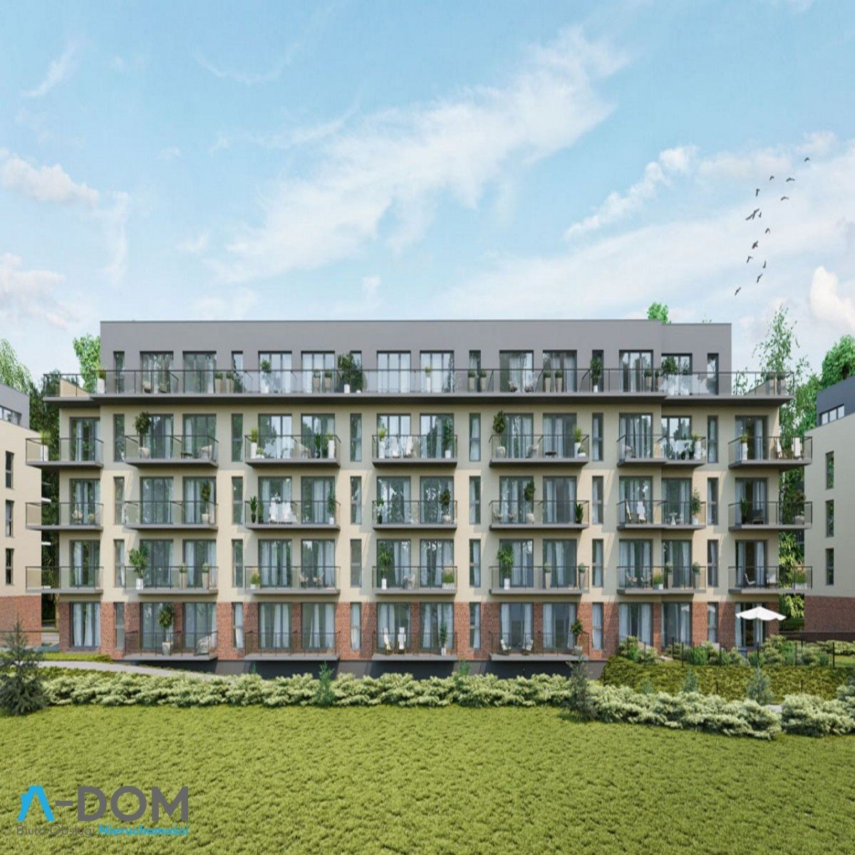 Mieszkanie dwupokojowe na sprzedaż Poznań, Malta, abpa Walentego Dymka  41m2 Foto 4