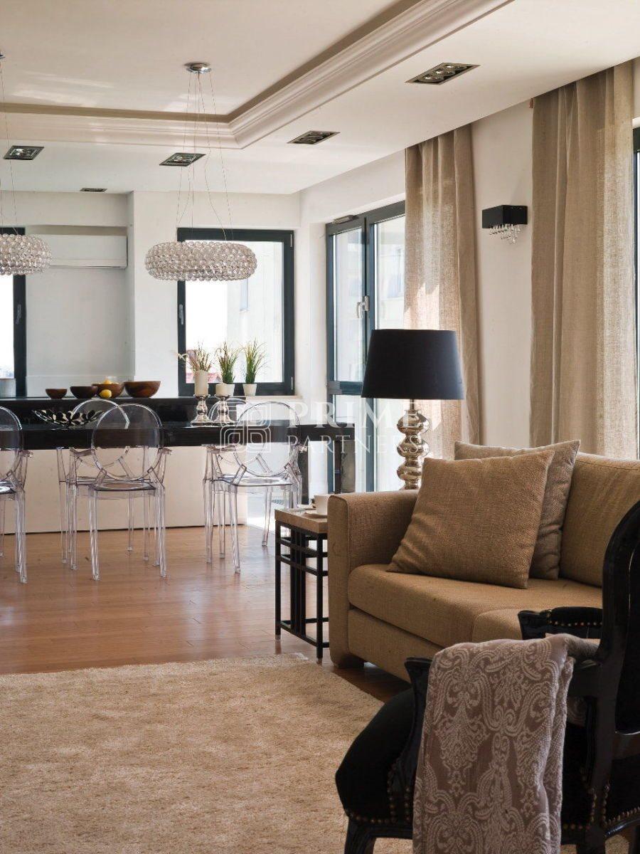 Mieszkanie czteropokojowe  na wynajem Warszawa, Śródmieście, Mokotów  180m2 Foto 11