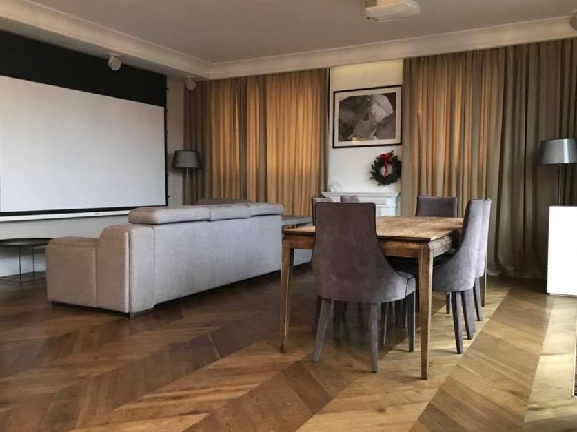 Luksusowe mieszkanie czteropokojowe  na wynajem Warszawa, Wola, Kolejowa  160m2 Foto 1