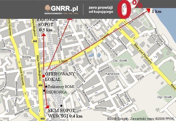 Lokal użytkowy na sprzedaż Sopot, Centrum, BOMI, BIEDRONKA, Niepodległości  50m2 Foto 4