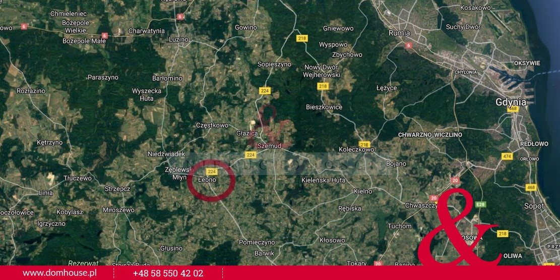 Działka rolna na sprzedaż Łebno  81414m2 Foto 4