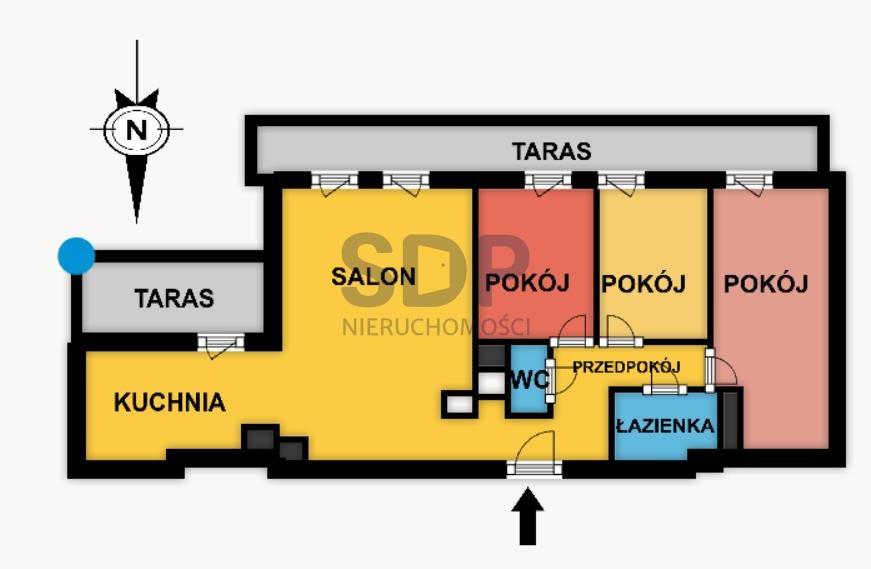Mieszkanie czteropokojowe  na sprzedaż Wrocław, Fabryczna, Grabiszyn, Ok. Grabiszyńskiej  116m2 Foto 3