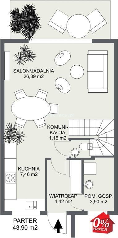 Dom na sprzedaż Wielka Wieś, Modlnica, Modlnica, Graniczna - okolice  86m2 Foto 3