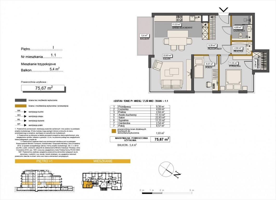 Mieszkanie trzypokojowe na sprzedaż Szczyrk  76m2 Foto 9