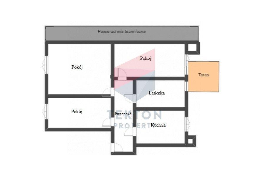 Mieszkanie trzypokojowe na sprzedaż Gdańsk, Aniołki, Śniadeckich  75m2 Foto 3