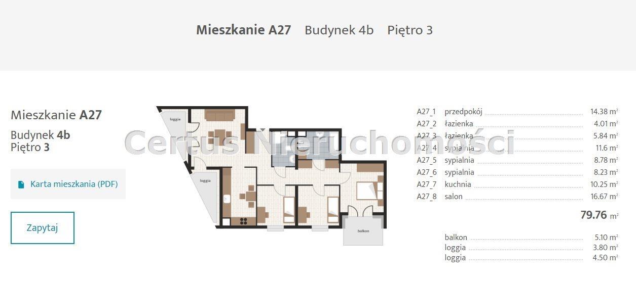 Mieszkanie czteropokojowe  na sprzedaż Rzeszów, Baranówka  79m2 Foto 12