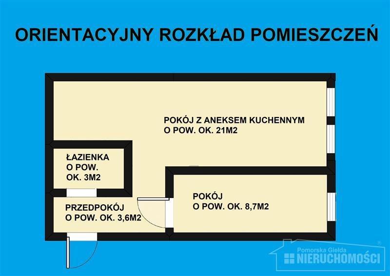 Mieszkanie dwupokojowe na sprzedaż Szczecinek, Przychodnia, Przystanek autobusowy, Szkoła podstaw, Mierosławskiego  38m2 Foto 10
