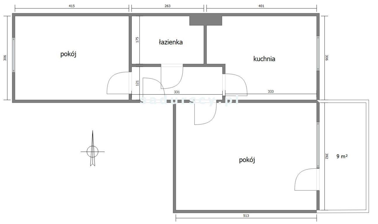 Mieszkanie dwupokojowe na sprzedaż Kraków, Bieżanów-Prokocim, Osiedle Złocień, Malachitowa  53m2 Foto 4