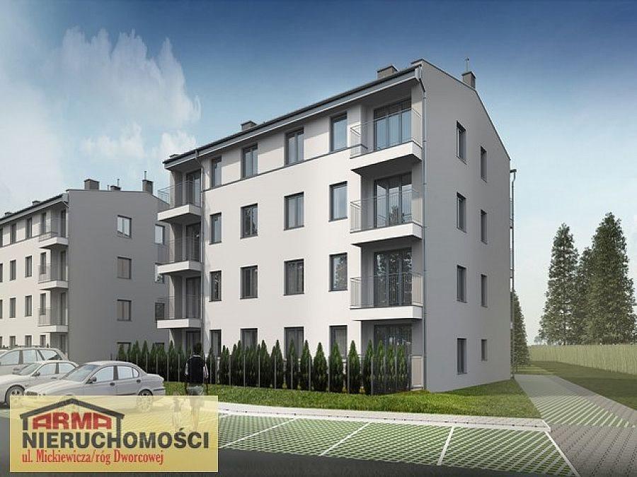 Mieszkanie trzypokojowe na sprzedaż Stargard, Stare Miasto, Gdańska  58m2 Foto 4