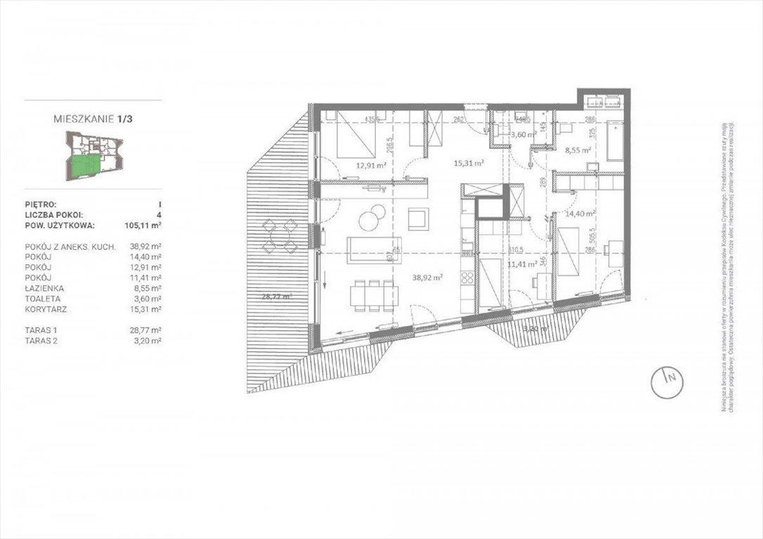 Mieszkanie czteropokojowe  na sprzedaż Poznań, Sołacz, Michała Drzymały  105m2 Foto 6