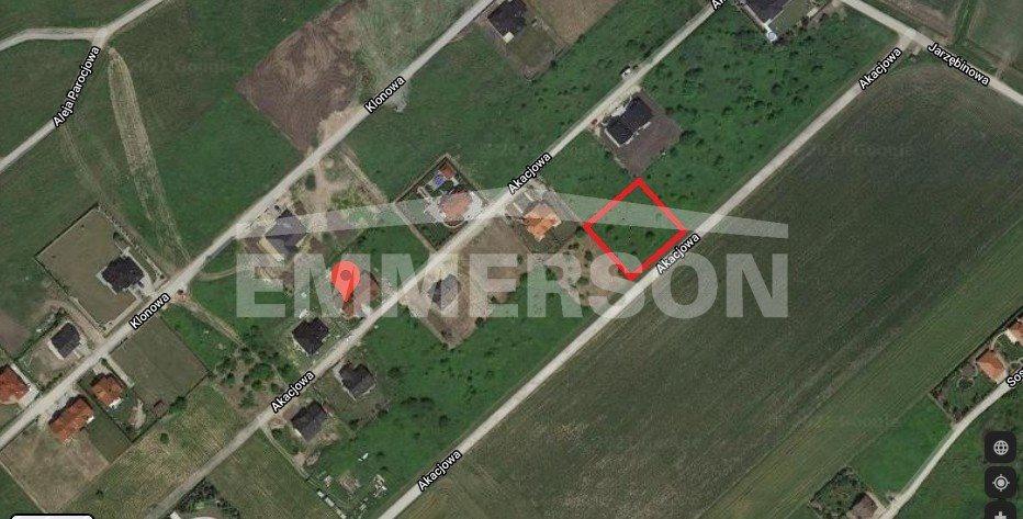 Działka siedliskowa na sprzedaż Mokronos Górny, Akacjowa  1500m2 Foto 1