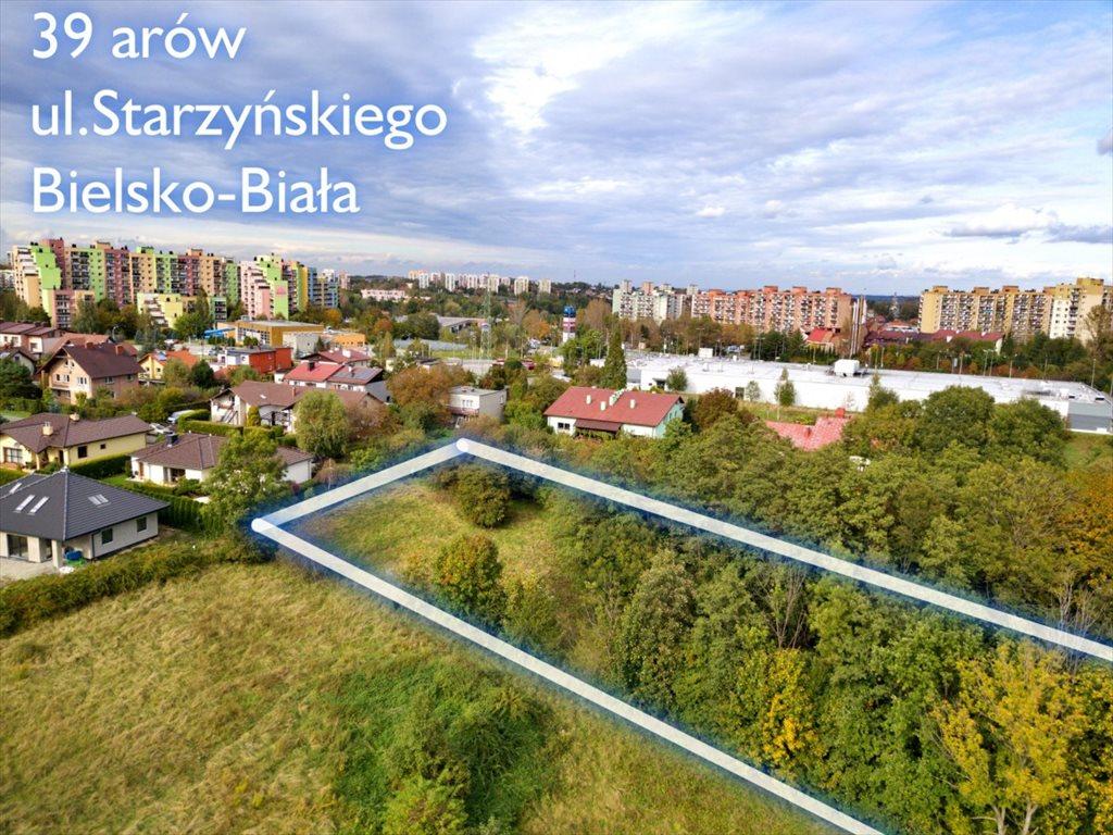 Działka budowlana na sprzedaż Bielsko-Biała, Stefana Starzyńskiego  3900m2 Foto 7