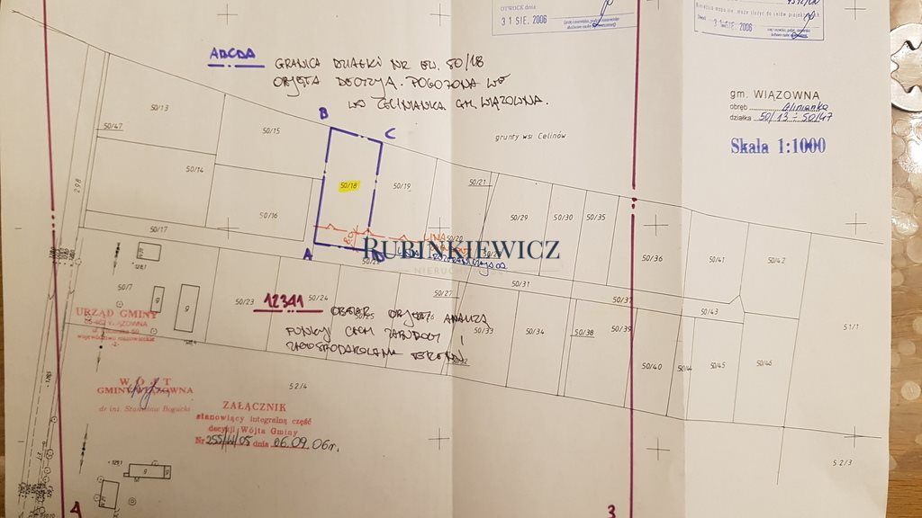 Działka budowlana na sprzedaż Glinianka  1350m2 Foto 1