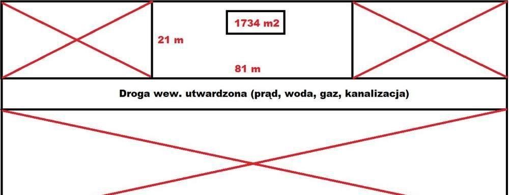 Działka budowlana na sprzedaż Tarnowskie Góry, Repty, tarnowskie góry  1743m2 Foto 2