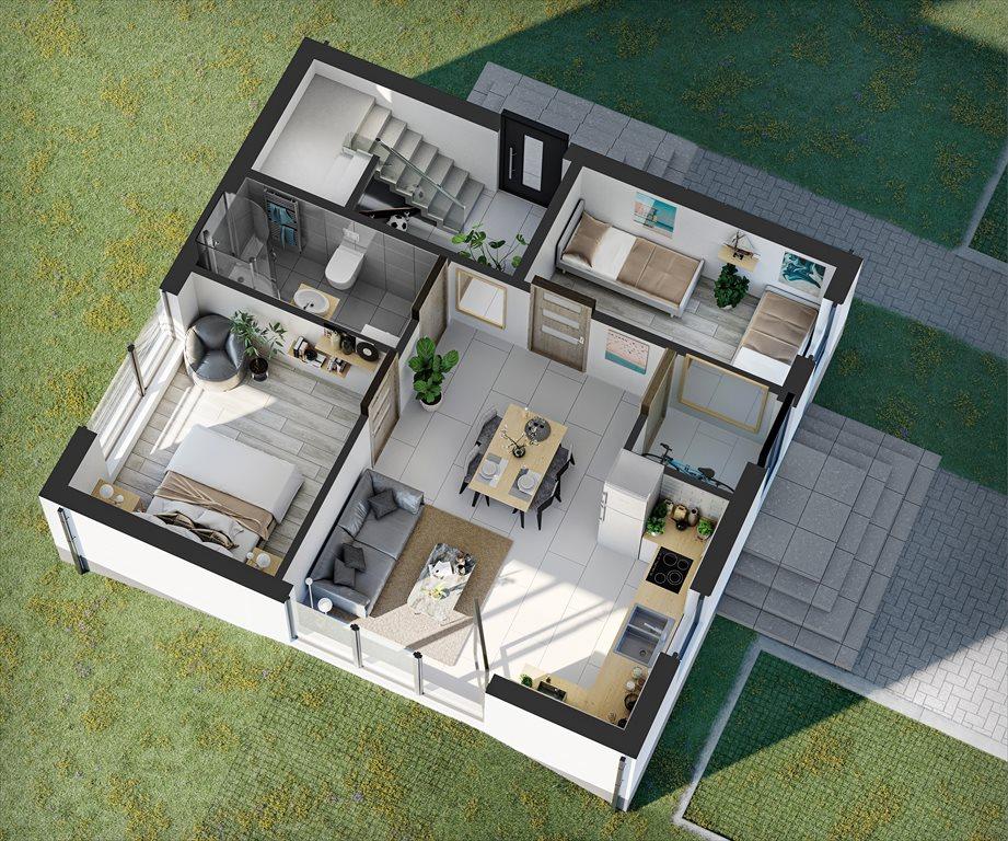 Mieszkanie trzypokojowe na sprzedaż Dębki, Mieszkanie Dom Apartament nad morzem, Południowa/Słoneczna  54m2 Foto 4
