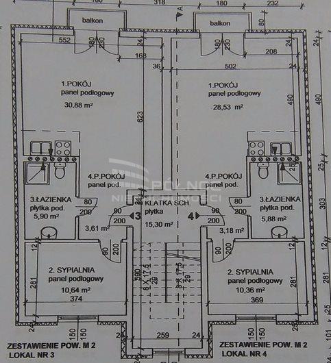 Mieszkanie dwupokojowe na sprzedaż Pabianice, Nowe M-3 w centrum, polecam  51m2 Foto 10