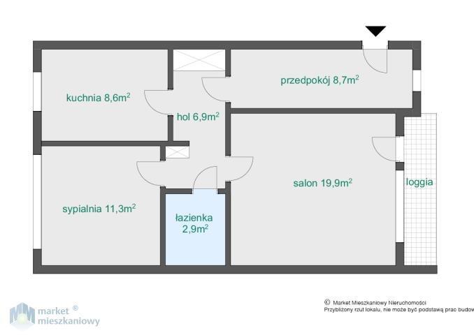 Mieszkanie dwupokojowe na sprzedaż Warszawa, Bemowo, Górce, Górczewska  61m2 Foto 3
