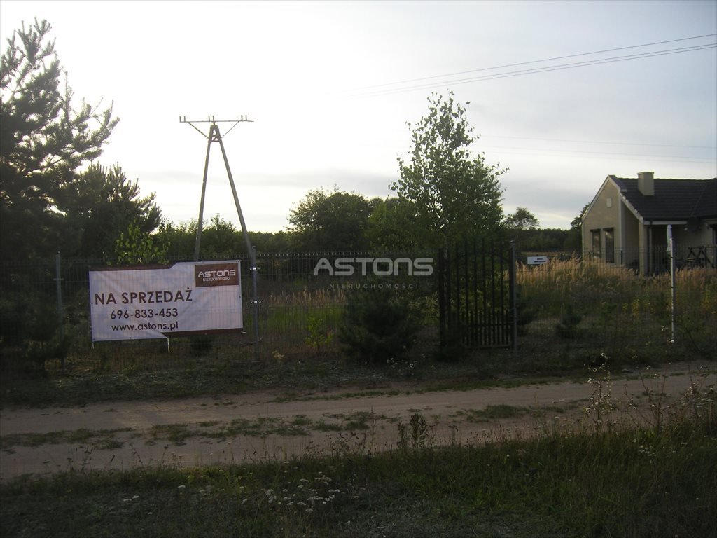 Działka budowlana na sprzedaż Wierzyce, Wierzyce  1244m2 Foto 4