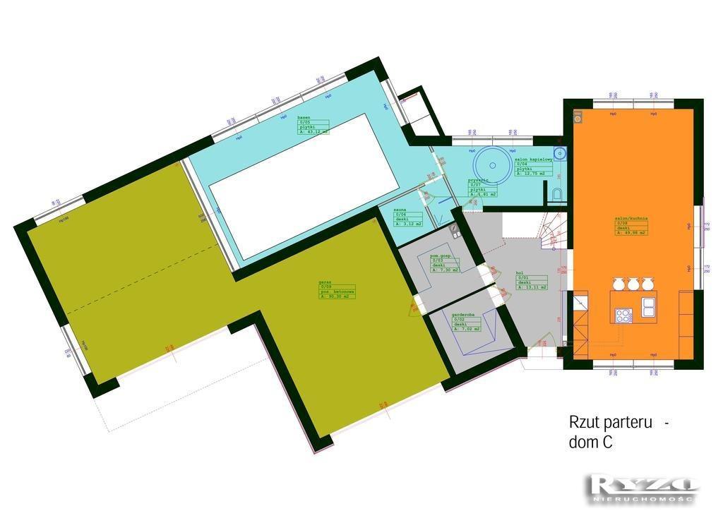 Działka budowlana na sprzedaż Mierzyn  4100m2 Foto 6