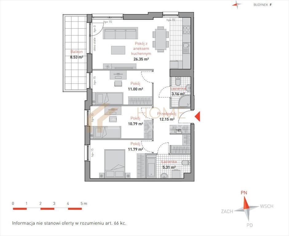 Mieszkanie czteropokojowe  na sprzedaż Gdańsk, Morena, Bulońska  81m2 Foto 3