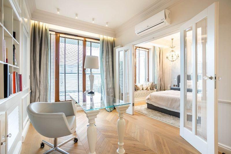 Luksusowe mieszkanie trzypokojowe na wynajem Warszawa, Mokotów, Bernardyńska  125m2 Foto 6