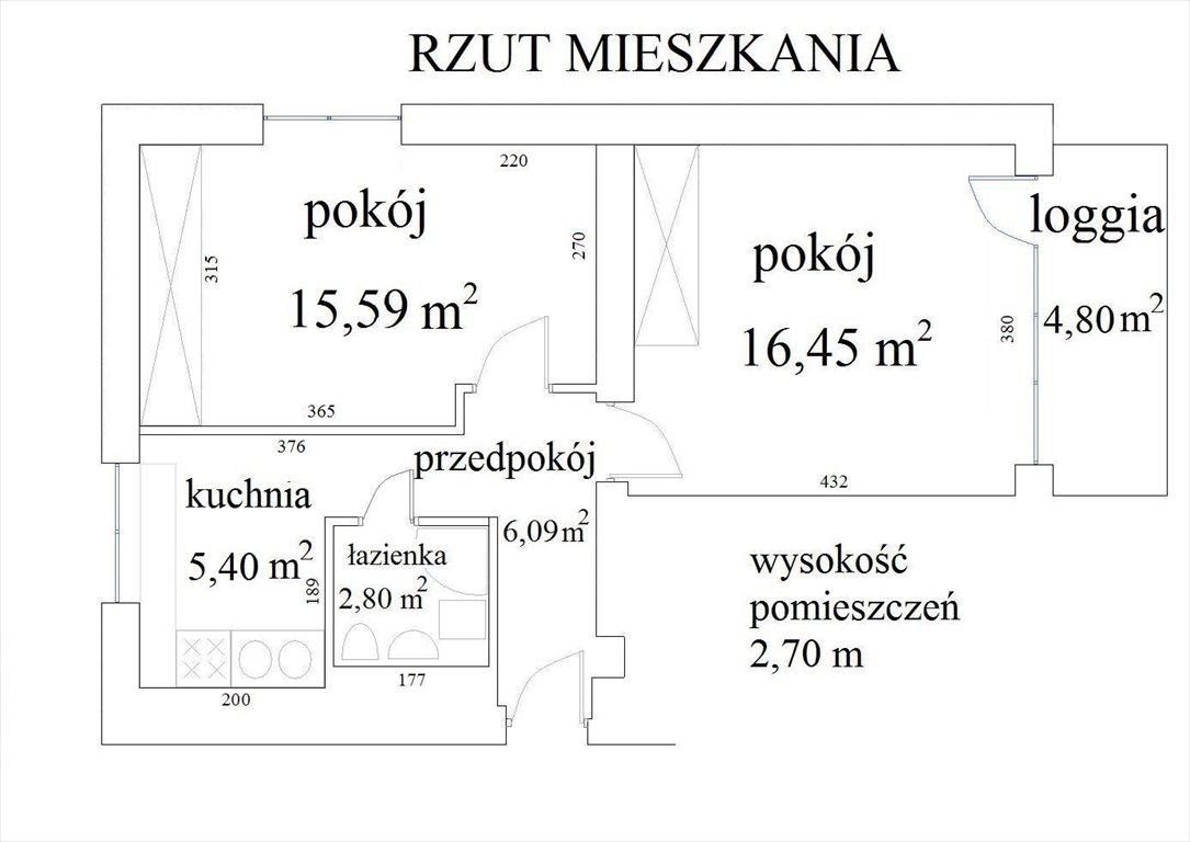 Mieszkanie dwupokojowe na sprzedaż Wrocław, Krzyki, Południe, Małachowskiego 12A  45m2 Foto 7
