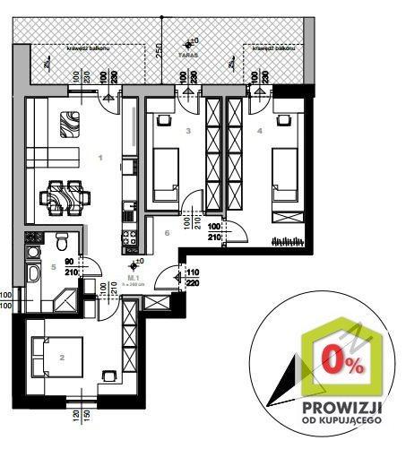 Mieszkanie czteropokojowe  na sprzedaż Bochnia, Pileckiego  79m2 Foto 4