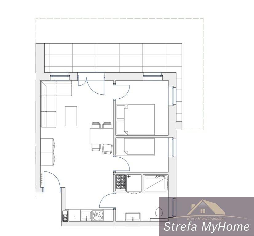 Mieszkanie trzypokojowe na sprzedaż Pobierowo  43m2 Foto 8