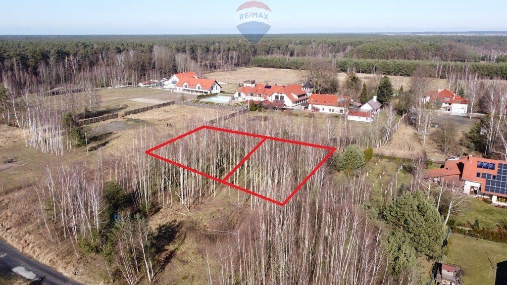 Działka budowlana na sprzedaż Dylaki, Jeziorna  1024m2 Foto 3
