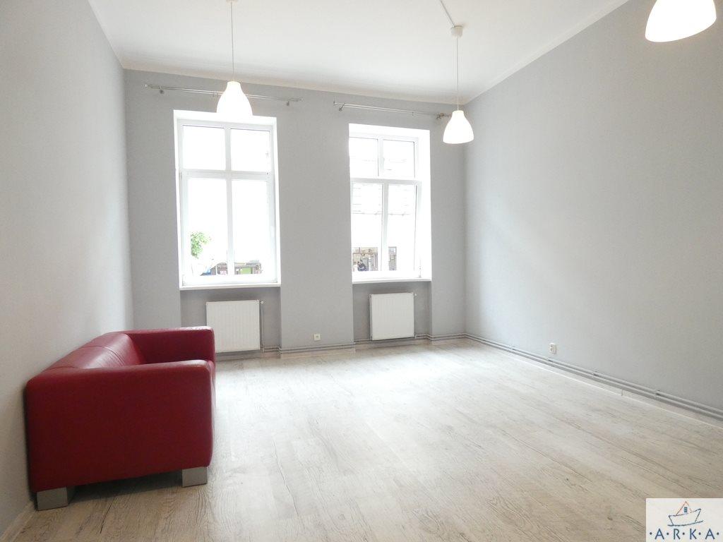 Mieszkanie dwupokojowe na wynajem Szczecin, Centrum  69m2 Foto 1